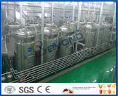 3000 - 20000BPH Fruit Juice Maker Machine Fruit Processing Unit , Fruit Juice Equipment