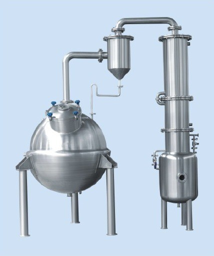 200kg/H Dairy Processing Plant Sphere Concentrating Tank For Pharmacy / Juice