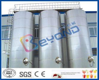 Μεγάλες υπαίθριες δεξαμενές αποθήκευσης ανοξείδωτου/γαλακτοκομικός εξοπλισμός ανοξείδωτου SUS304 SUS316