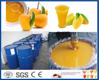 Γραμμή επεξεργασίας μάγκο μηχανών επεξεργαστών φρούτων για το εργοστάσιο επεξεργασίας χυμού