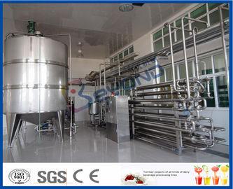 Αποστηρωμένος εξοπλισμός παστερίωσης γάλακτος διαδικασίας για το εργοστάσιο επεξεργασίας γάλακτος
